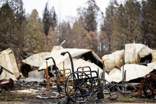Wildfire evacuees are returning to the destroyed California town that's 'like moving backing back into a funeral home.' See the wreckage in a 360-degree video