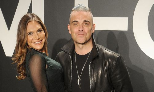 Robbie Williams's wife Ayda Field shares brand new video of their baby boy Beau