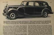 From the archive: A royal Rolls-Royce