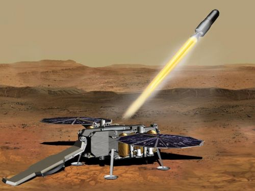 NASA narrows design for rocket to launch samples off of Mars