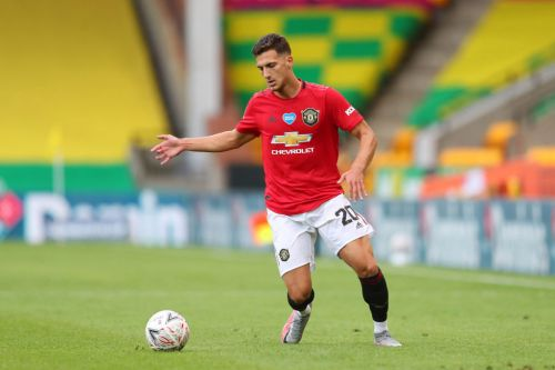 Diogo Dalot returns to Manchester United's Europa League squad after missing LASK victory