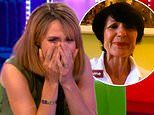 Alex Jones breaks down in tears on The One Show as she is surprised by her mother