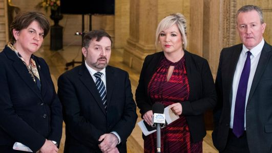 Coronavirus: Executive is not collapsing, says Foster as she calls for unity after O'Neill criticism of health minister