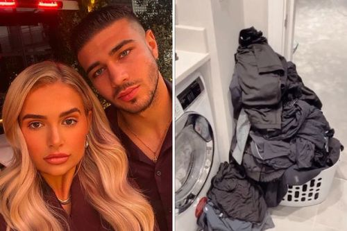 Molly-Mae Hague calls out Tommy Fury for expecting her to do his laundry