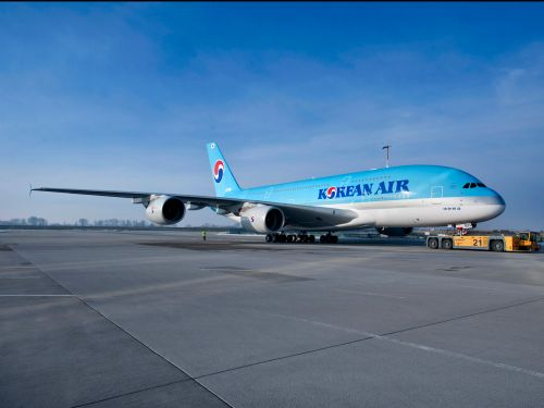 Korean Air is letting people change their flights from the US to South Korea after a flight attendant tested positive for coronavirus - but there's a catch