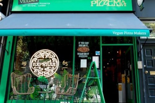 Pizza Express launches its first ever plant-based restaurant in London