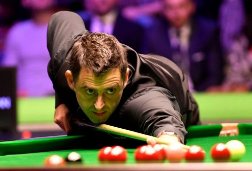 Ronnie O'Sullivan says referee should 'get on the treadmill' after Northern Ireland Open second round win