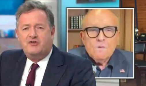 Furious GMB Piers Morgan row erupts with Trump's lawyer - 'failed journalist f***ed up!'