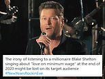 Blake Shelton defends his song Minimum Wage after backlash: 'I'm proud of it'