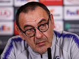 Sarri: I will QUIT Chelsea if I'm judged solely on Europa League final