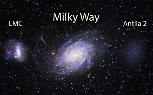 Gaia data reveals previously unseen 'ghost' galaxy near Milky Way