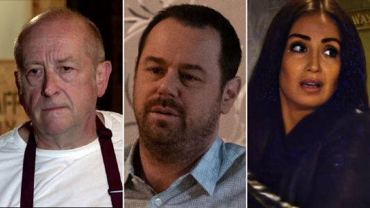 10 soap spoilers this week: Coronation Street Geoff's Sally rage, EastEnders huge Mick twist, Emmerdale Malone caught, Hollyoaks affair revisited