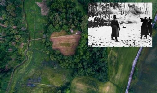 Archaeology: Fragments of bullets and bone discovered at WW2 execution site 'Death Valley'
