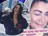 Gemma Collins jokes about being stranded at Dancing On Ice as studio is hit by snowfall