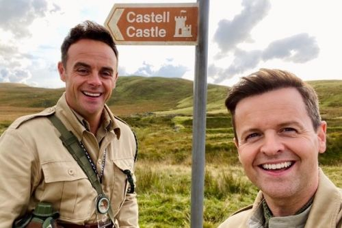 I'm a Celebrity hosts Ant and Dec head on location to the castle in North Wales