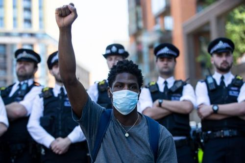 Anti-Racism Protesters Around The World Demand Justice For George Floyd