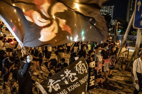 Hong Kongers were banned from marking 31 years since the Tiananmen Square massacre, but they're turning out anyway. It may be for the last time