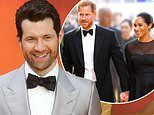 Billy Eichner meets Prince Harry and Meghan Markle at The Lion King premiere
