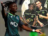 'Arsenal target' Joelson Fernandes has been dubbed the 'new Cristiano Ronaldo' at Sporting Lisbon