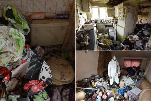 Neighbours' horror at living next to filthy rat-infested hoarder home for 20 years