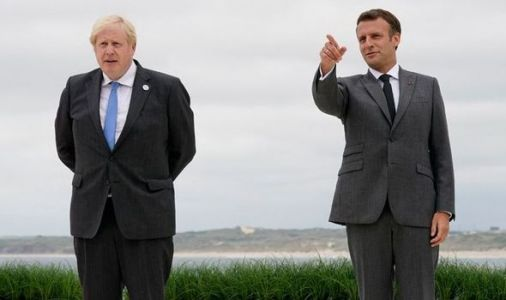 Boris gives Macron geography lesson as EU leader 'didn't know' Northern Ireland part of UK