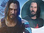 Keanu Reeves transforms into CGI in action-packed video game Cyperpunk 2077