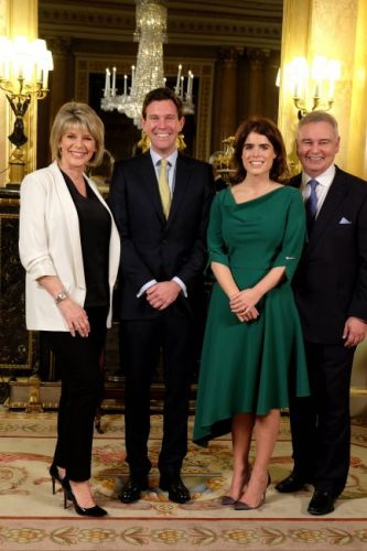 Princess Eugenie wedding: Princess Eugenie and James Brooksbank meet Ruth Langsford and Eamonn Holmes before they host royal wedding