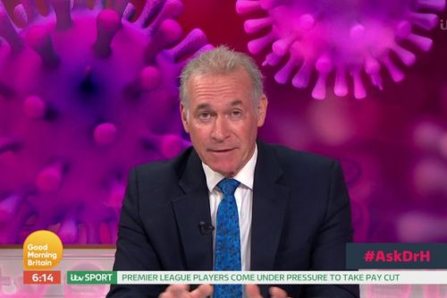 Dr Hilary warns UK is not over worst of coronavirus as he encourages NHS support
