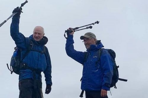 Munro bagging: Ayrshire climbers join exclusive club and end with poignant tribute to late friend