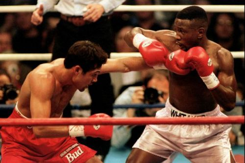 Pernell Whitaker dies aged 55 after being struck by a car in Virginia Beach