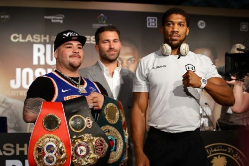 Eddie Hearn makes final Anthony Joshua vs Andy Ruiz Jr prediction