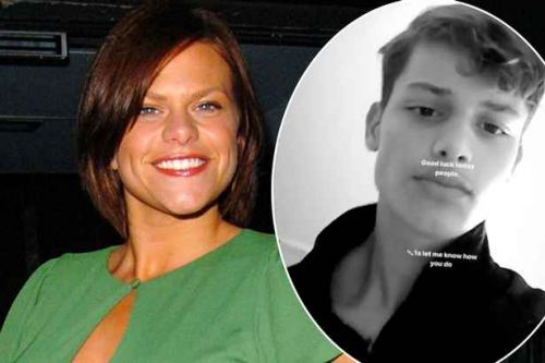 Jade Goody's son Bobby is the spitting image of his late mum as he shares video ahead of GCSE results