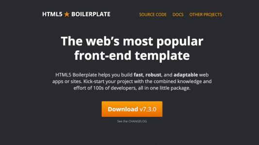 How to use an HTML boilerplate