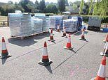 Hundreds of homes in Sussex have been left without water for five days