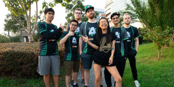 This esports team is competing for a $15 million prize. We talked to its coach and manager about what it takes to build a winning squad