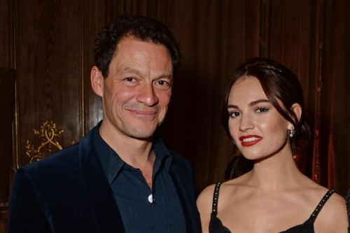 Lily James 'cancels Today Show appearance' after snog scandal with Dominic West