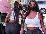 Kylie Jenner's BFF Stassie Karanikolaou flashes her 'Stormi' tattoo while out in Beverly Hills
