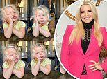 Jessica Simpson posts shot of daughter Birdie Mae, two, after celebrating seven-year anniversary