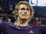 Alexander Zverev saves two match points to win wet Geneva Open final