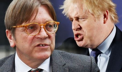 Verhofstadt lambasts UK's Brexit plan as he savages Boris for living 'on another planet'