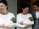 New Zealand PM Jacinda Ardern, 37, reveals her newborn baby girl to the world