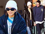 Kaia Gerber bundles up for NYC gym session. after holding hands with beau Pete Davidson