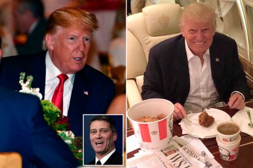 Donald Trump's former doctor hid veg in his meals to help him lose weight