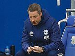 Neil Harris is SACKED by Cardiff following six-game losing streak