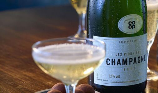 Co-op's own-brand bubbly is top of the pops