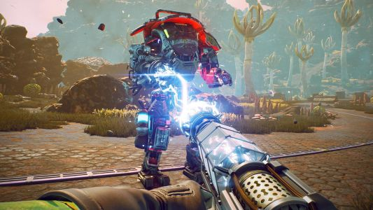 The Outer Worlds weapons: the best guns and science weapons