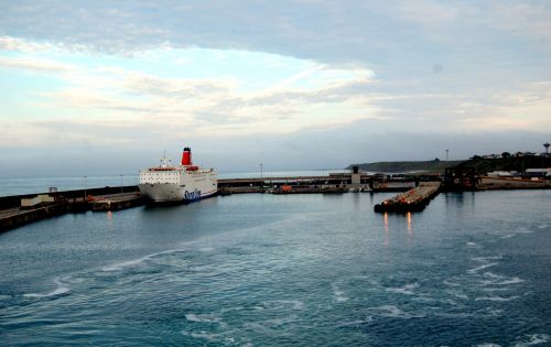 Sixteen people discovered inside trailer on ferry heading for Ireland