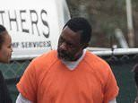 Idris Elba and John Cena don prison uniforms to film The Suicide Squad at ex-jail in GA