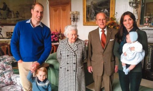 The Queen's picture with baby Princess Charlotte has royal fans saying the same thing