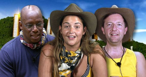 I'm A Celebrity's Ian Wright and Andrew Maxwell make up after crocodile feet row - as the comedian clashes with Jacqueline Jossa